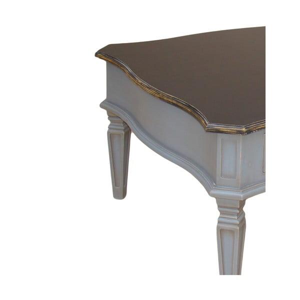 Konferenční stolek Transilvania Belgique Grey, 80x80 cm