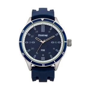 Pánské hodinky Firetrap Gents Blue Silicon Strap/Blue Dial, 45 mm
