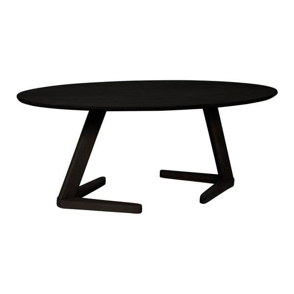 Černý konferenční stolek Canett Augustenborg