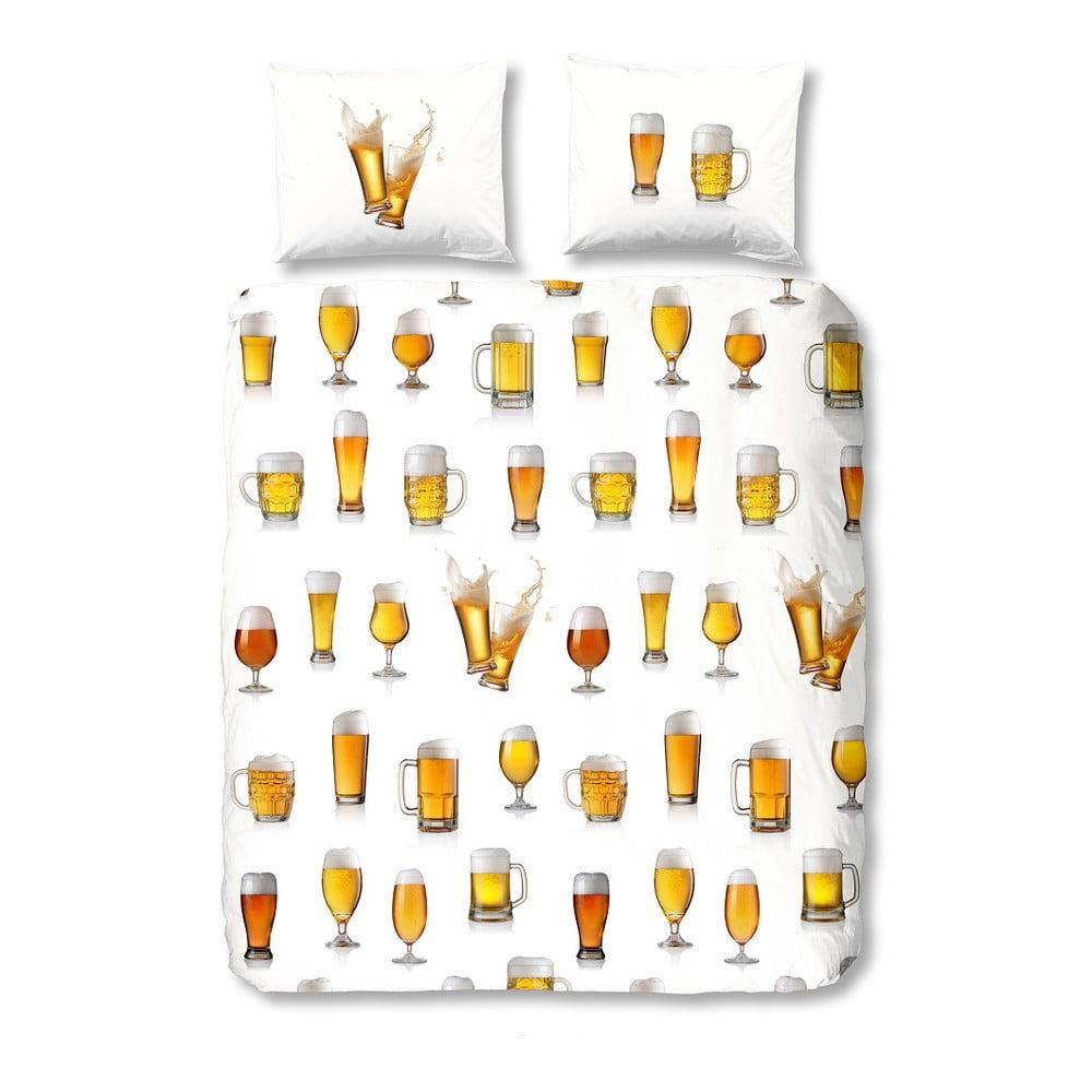 Bavlněné povlečení na jednolůžko Muller Textiel Beer,140x200cm