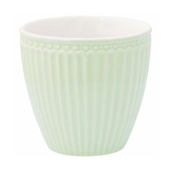 Cană din ceramică Green Gate Alice Latté, 300 ml, verde de la Green Gate