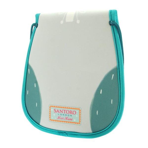 Modrá neoprenová taška ve tvaru sovy Santoro London