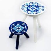 Sada 2 ručně malovaných stoliček Vistea