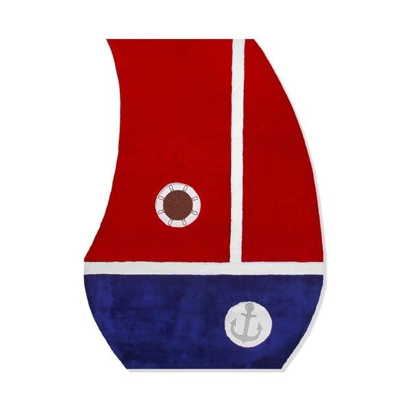Dětský koberec Mavis Red Sail, 100x150 cm
