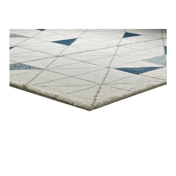 Bílý koberec vhodný i na ven Universal Shuffle, 80 x 150 cm