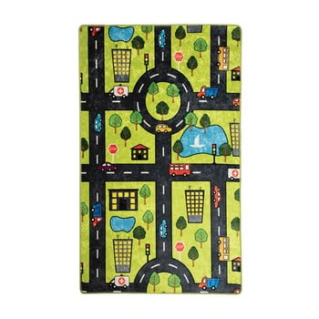 Covor copii Green City, 100 x 160 cm imagine