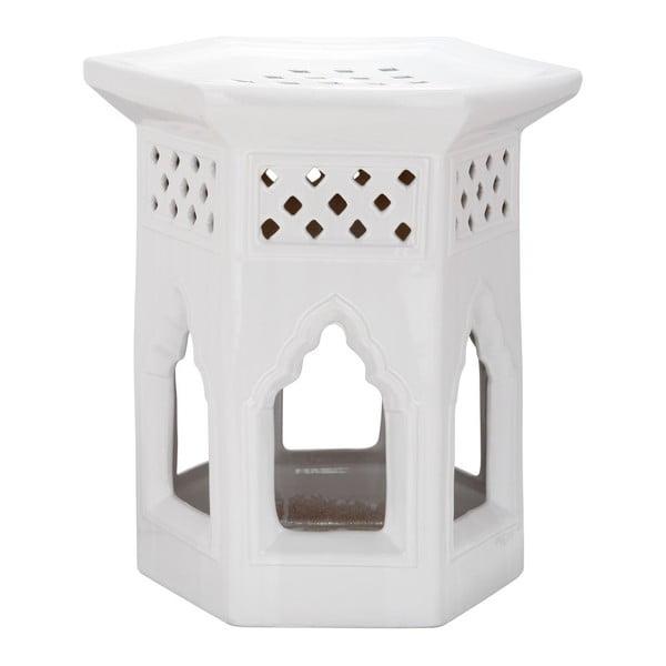 Stolek Moroccan White