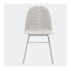 Židle Mannequin Metal, krémová