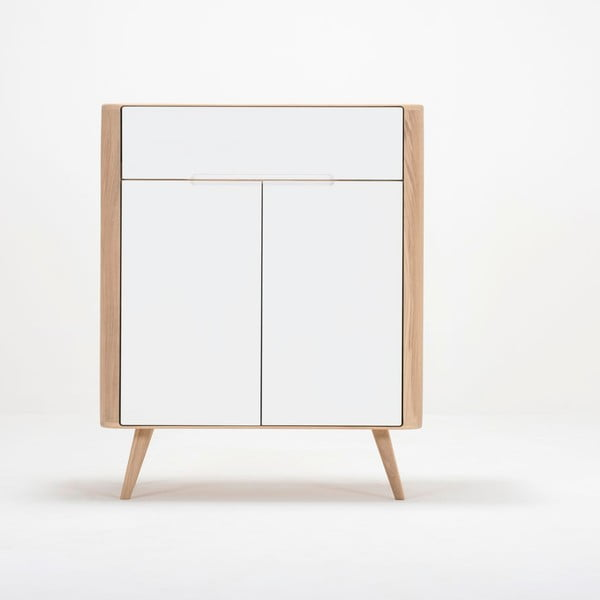 Komoda z dubového dreva Gazzda Ena One, 90×42×110 cm