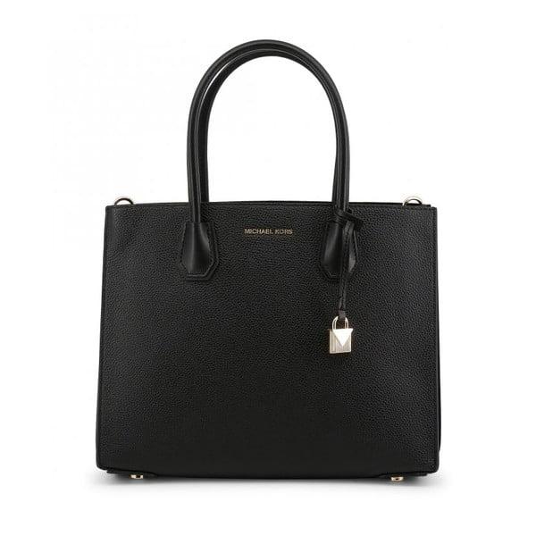 Černá kožená kabelka Michael Kors Violeta