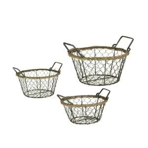 Sada tří košíků Cestini