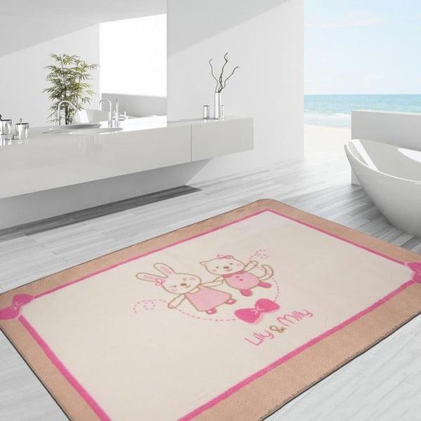 Dětský koberec Confetti Funnababy Lily & Mily,100x150cm