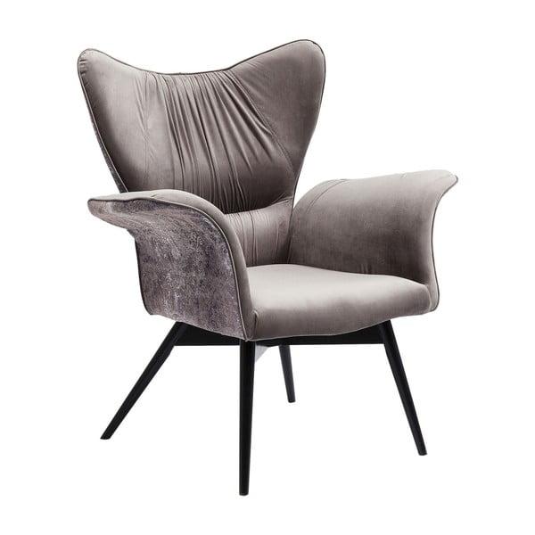 Wallstreet szürke fotel - Kare Design