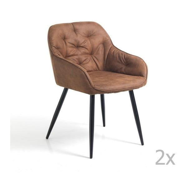 Sada 2 čalúnených stoličiek Tomasucci Lovely