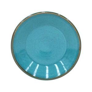 Modrý talířek z kameniny Casafina Sardegna,⌀16cm