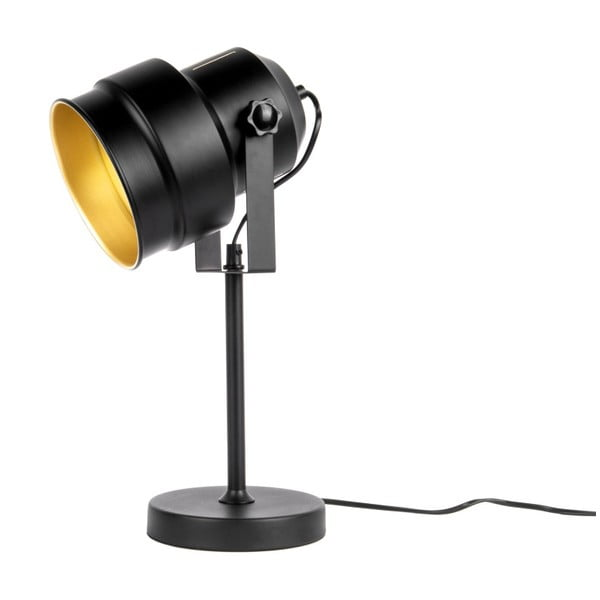 Studio fekete asztali lámpa - Leitmotiv