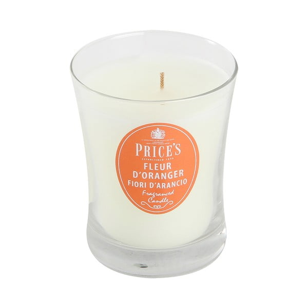 Vonná svíčka Prices Květ pomerančovníku, 45 hodin hoření