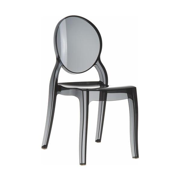Židle Elizabeth Black Transparent