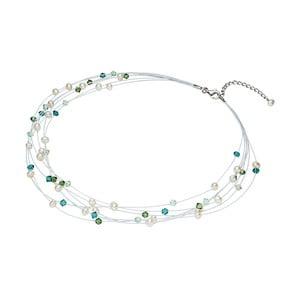 Perlový náhrdelník se Swarowski krystaly Nova Pearls Copenhagen Antoine