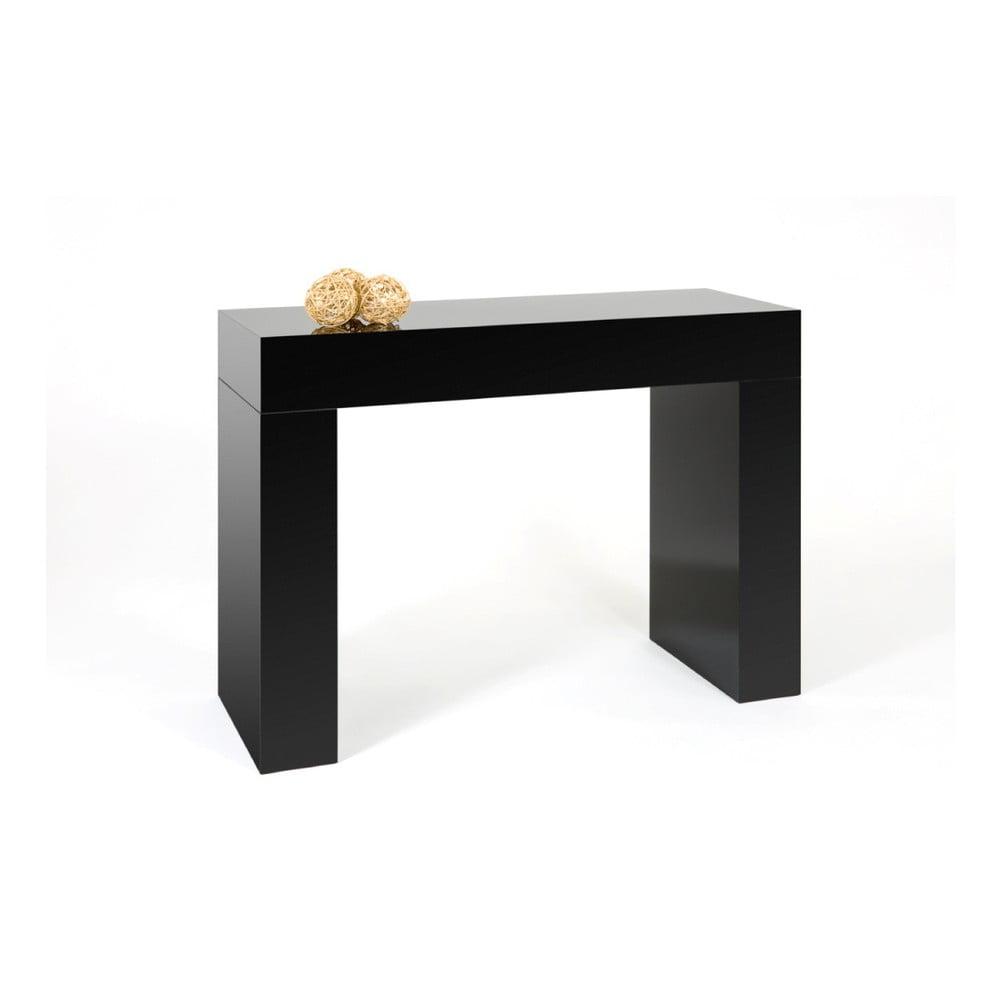 Černý konzolový stolek MobiliFiver Evolution