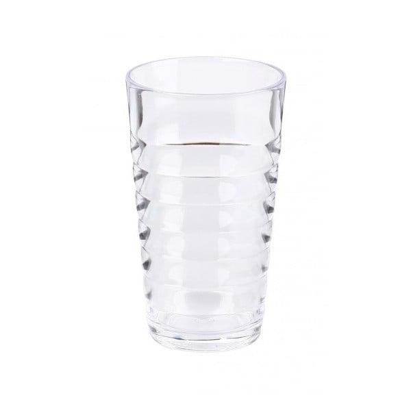 Sada čirých sklenic Contour, 2 ks