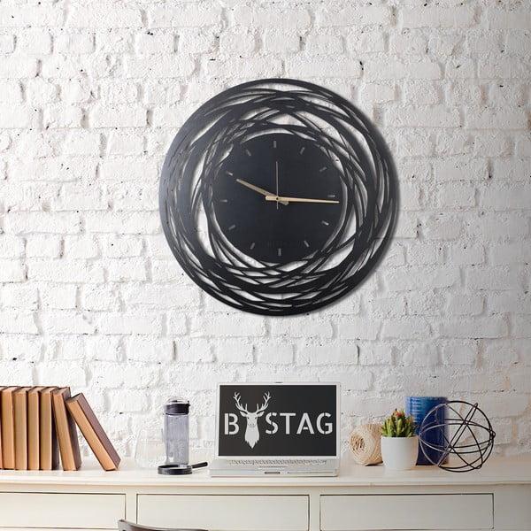 Metalowy zegar ścienny Ball, 70x70 cm