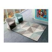 Modrošedý koberec Universal Retudo Naia, 80x150cm