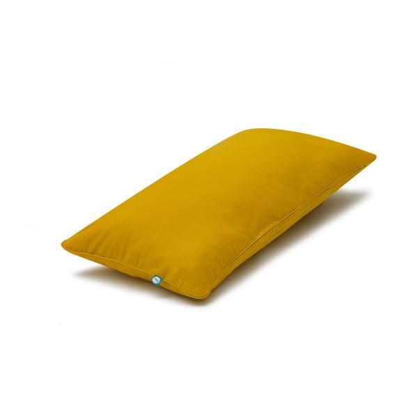 Hořčicově žlutý povlak na polštář Mumla Basic, 30 x 60 cm