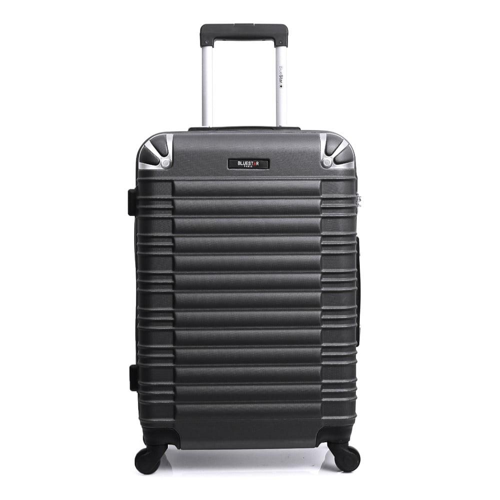Černý kufr na kolečkách Blue Star Lima, 91 l