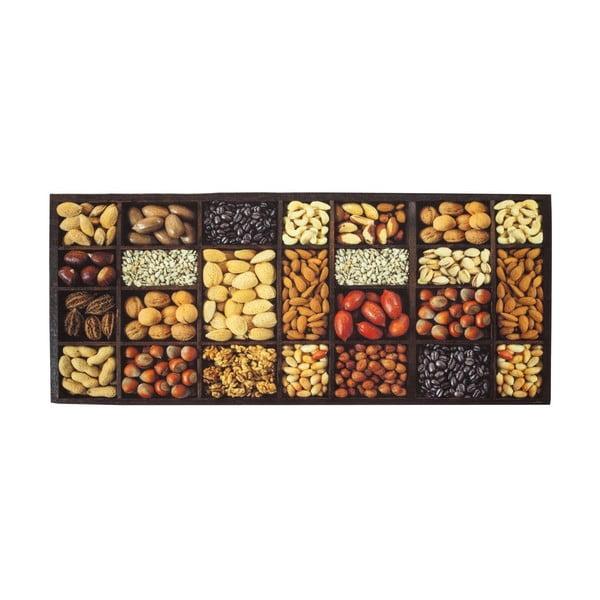 Vysoce odolný kuchyňský běhoun Floorita Semi, 60 x 220 cm