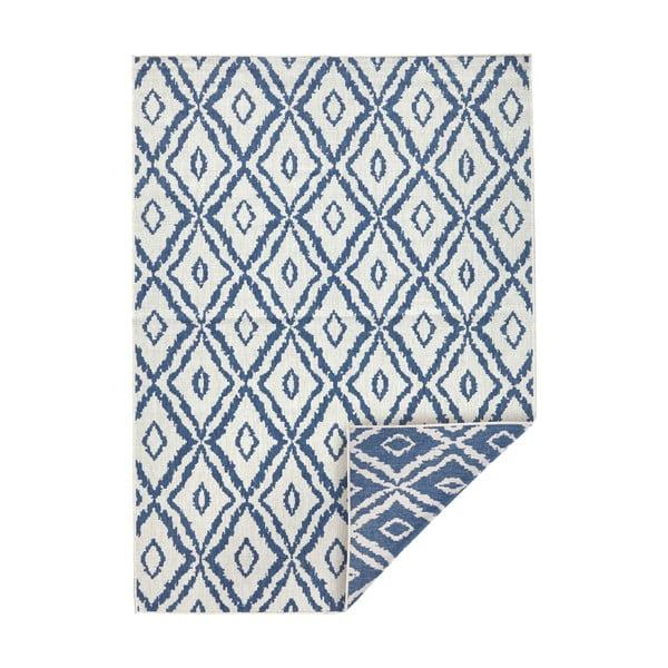 Covor adecvat pentru exterior Bougari Rio, 80 x 150 cm, albastru - alb