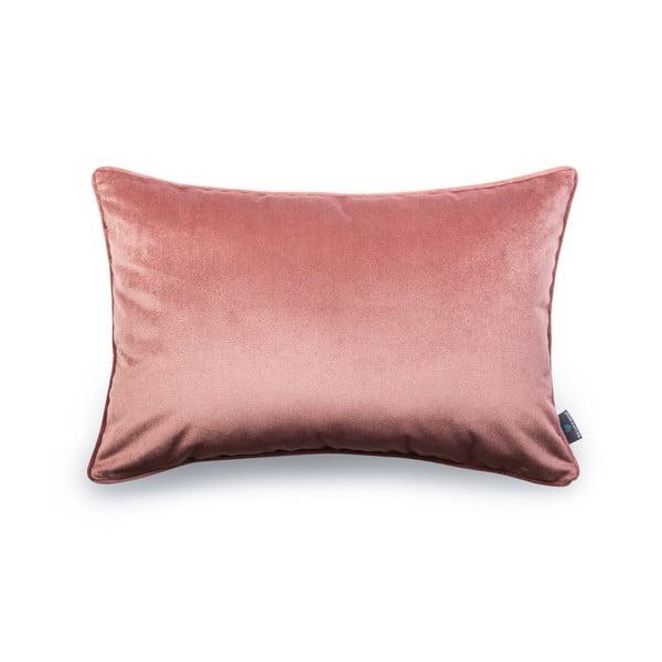Ružová obliečka na vankúš WeLoveBeds Heard Wood, 40 × 60 cm