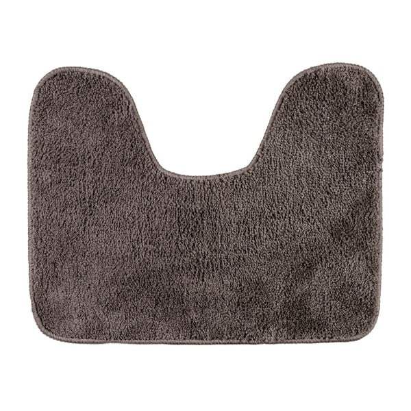 Šedobéžová koupelnová předložka Wenko, 50x40cm