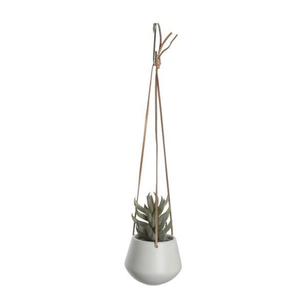 Bílý závěsný květináč PT LIVING Skittle, ⌀ 12,2cm