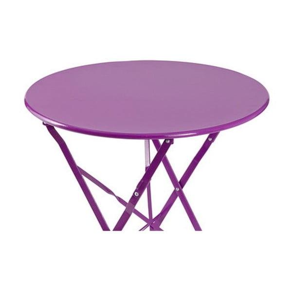 Skládací stůl Avila Purple, 72x60x60 cm