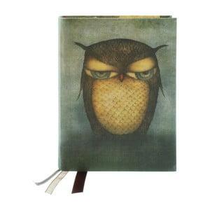 Agendă Santoro London Grumpy Owl