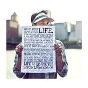 Plakát White Manifesto, 41x30 cm