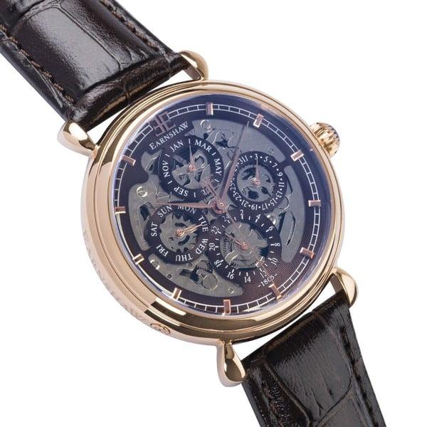 Pánské hodinky Thomas Earnshaw Grand Brown