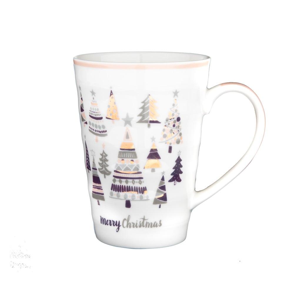 Porcelánový hrnek s vánočním motivem Dakls, 510 ml