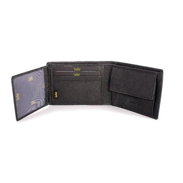 Kožená peněženka Lois Brownie, 11x8 cm