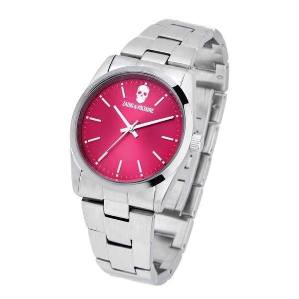 Růžovo-stříbrné hodinky Zadig & Voltaire Simplicity