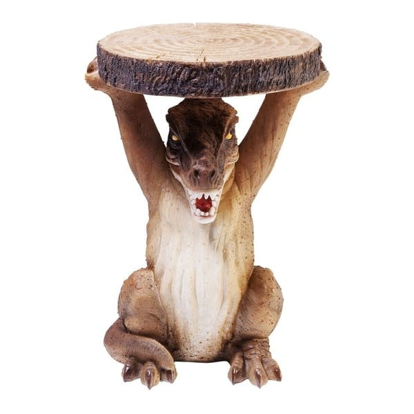 Odkládací stolek ve tvaru dinousaura Kare Design, Ø 25 cm