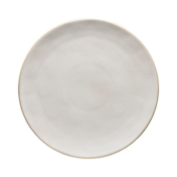Bílý kameninový podnos Costa Nova Roda, ⌀ 31 cm
