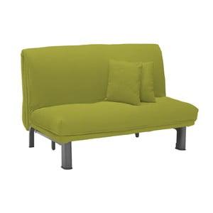 Canapea extensibilă cu 2 locuri 13Casa Furios, verde