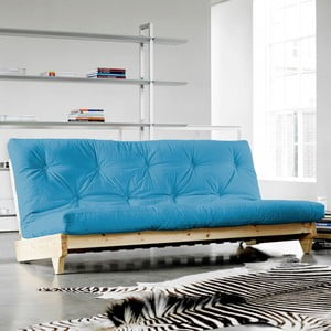 Canapea extensibilă Karup Fresh Natural/Horizon Blue