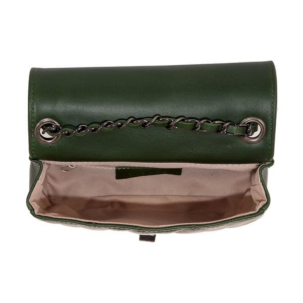 Zelená kožená kabelka Andrea Cardone 2030