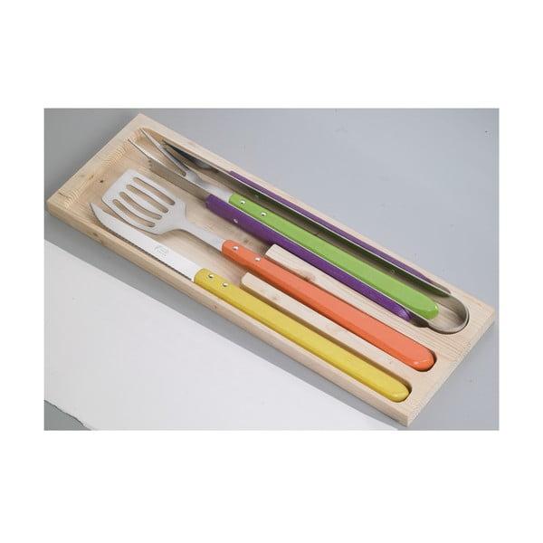 Sada 4 nástrojů na barbeque Jean Dubost