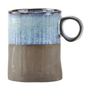 Modrý kameninový hrnek Galzone Made