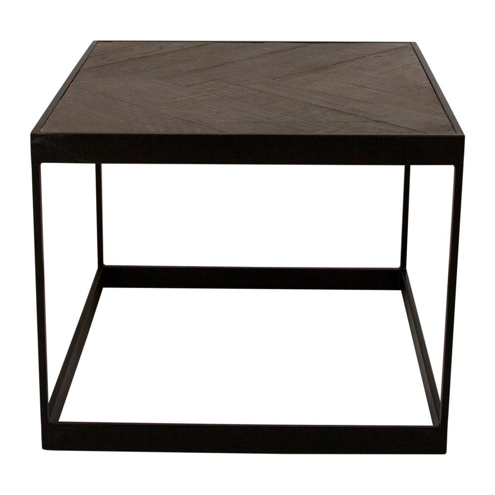 Konferenční stolek s deskou z recyklovaného dřeva Canett Damo, délka 55 cm