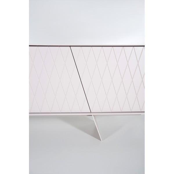 Televizní stolek E-klipse Lacquered AL2, 200cm